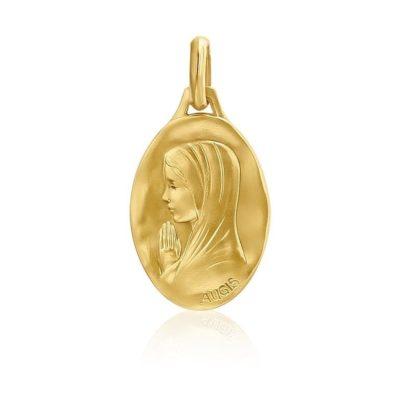 Médaille ovale de «la Vierge au voile» AUGIS