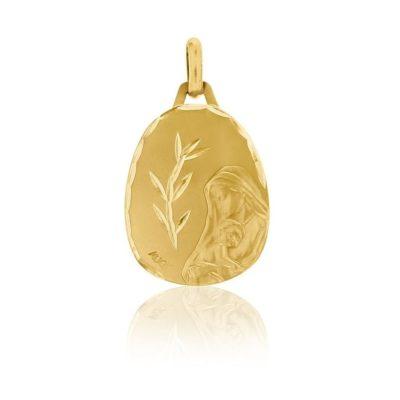 Médaille ronde de «la Vierge à l'enfant» AUGIS