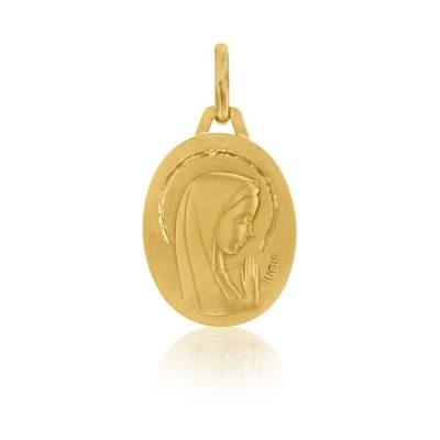 Médaille ronde de la «Vierge au voile» AUGIS