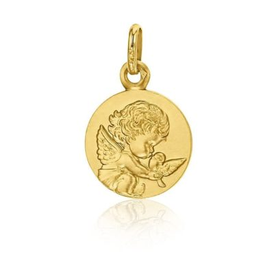 Médaille Ange de la colombe Loupiots AUGIS