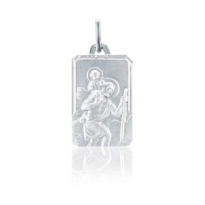 Médaille carré Saint Christophe AUGIS