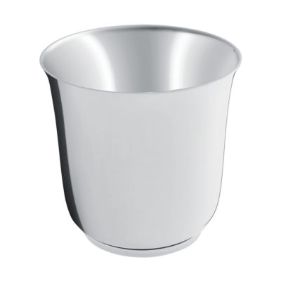 Timbale argent massif «Uni » – Ercuis