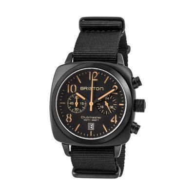 Montre Clubmaster Classic – Chronographe noir mat