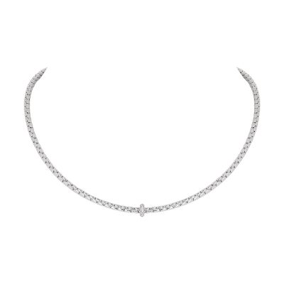 Collier « Spring » diamant sur or blanc